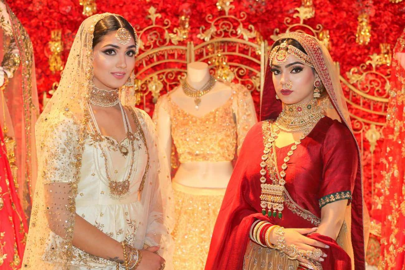 India - Saree is listed (or ranked) 1 on the list Wedding Dresses from Around the World