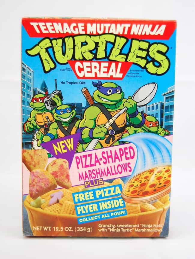 Teenage Mutant Ninja Turtles C... is listed (or ranked) 1 on the list 20 Discontinued Items You Can Still Buy on eBay