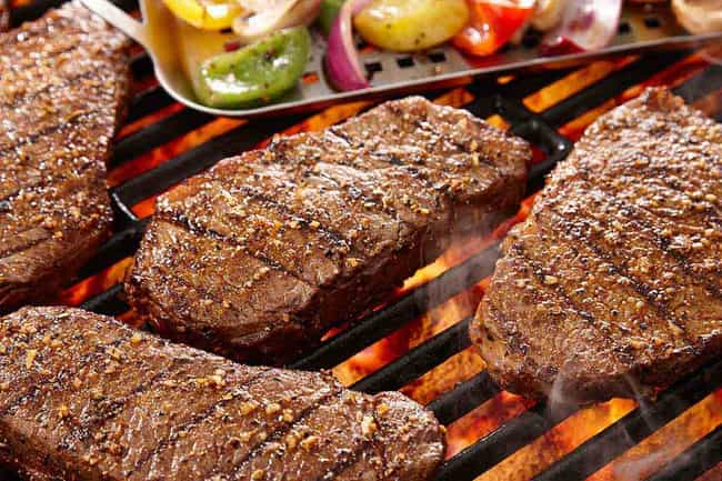 Grilling Meat Can Lead to Canc... is listed (or ranked) 4 on the list Food Myths, Debunked