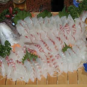 Sea Bream is listed (or ranked) 20 on the list The Best Fish for Sushi
