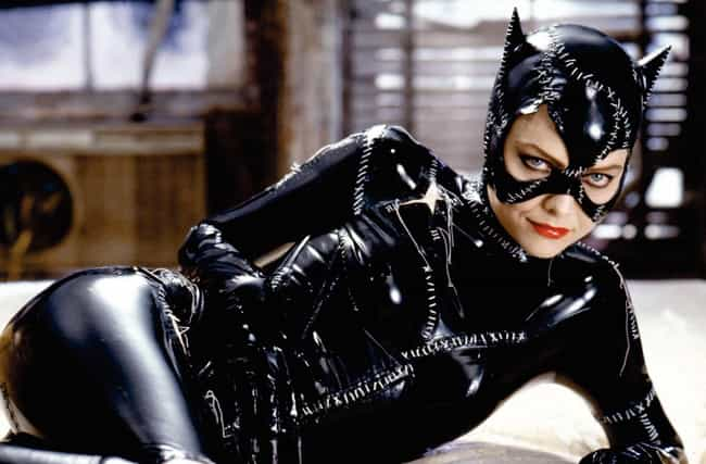 Catwoman's Costume Was S... is listed (or ranked) 3 on the list 27 Things You Didn't Know About Tim Burton's Batman Movies