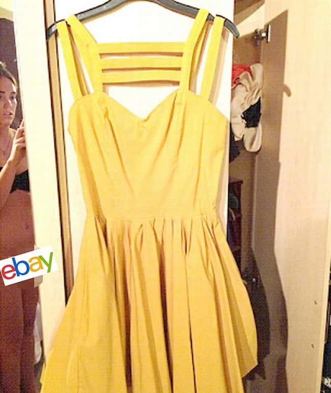 were people bidding on the dress or the girl photo u1?w=650&q=60&fm=jpg&fit=crop&crop=faces - Ces fois où un miroir a mis la photo en l'air