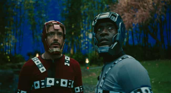 Sometimes Tony and Rhodey Just... is listed (or ranked) 7 on the list 26 Hilarious Photos of Actors Replaced by Digital Effects