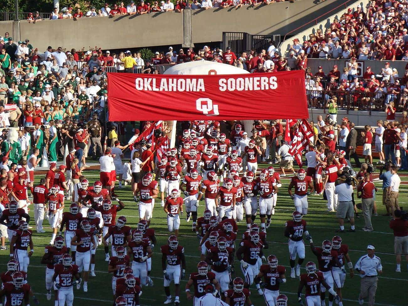 The 1989 Oklahoma Sooners Coca is listed (or ranked) 4 on the list The Most Notable College Sports Cheating Scandals