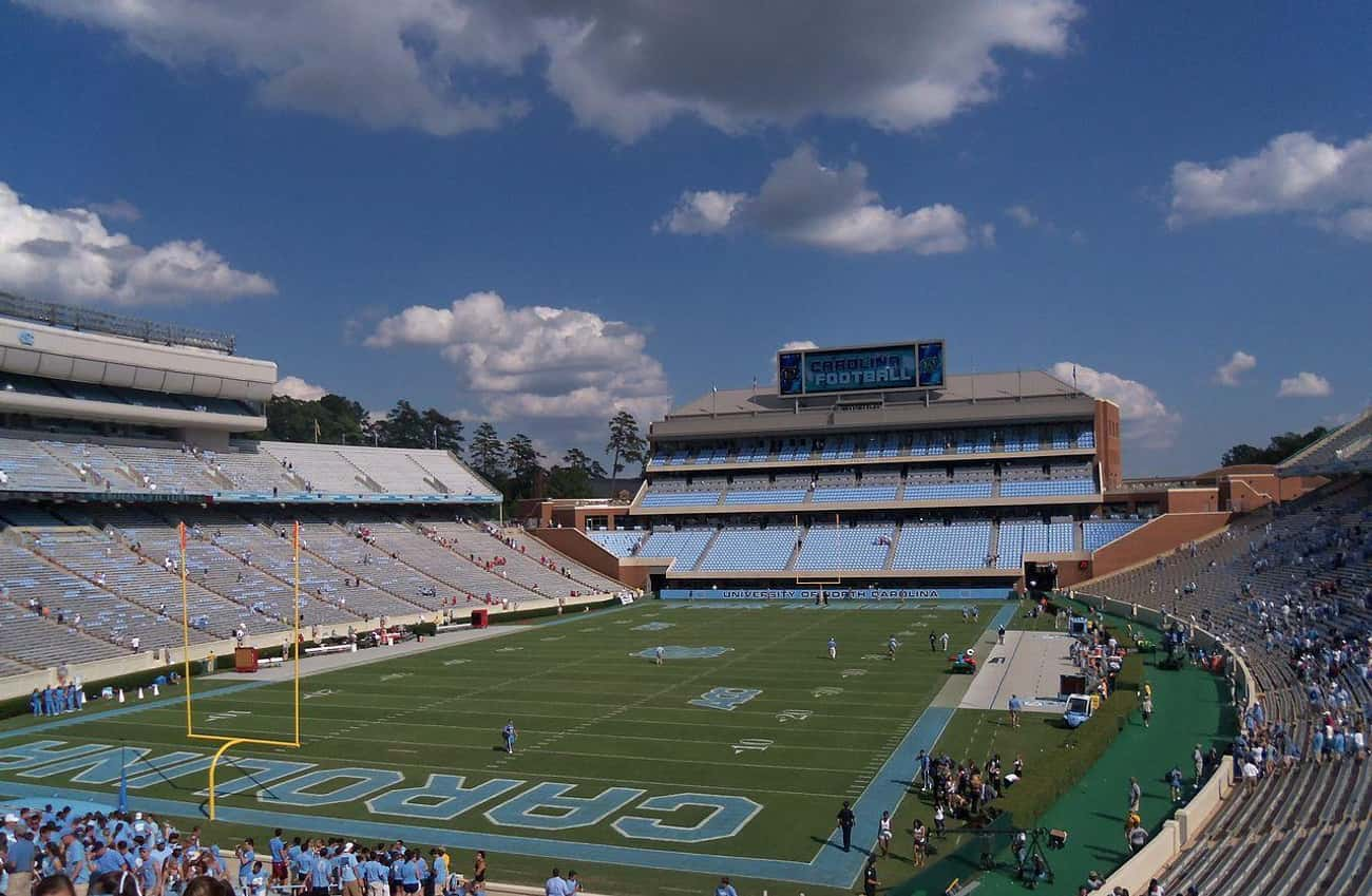 18 Years of Cheating at UNC is listed (or ranked) 3 on the list The Most Notable College Sports Cheating Scandals