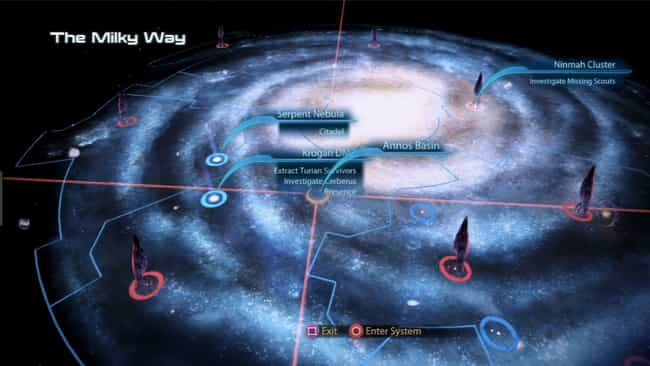 The Milky Way (Mass Effect) is listed (or ranked) 3 on the list Video Game Worlds You'd Actually Want to Live In