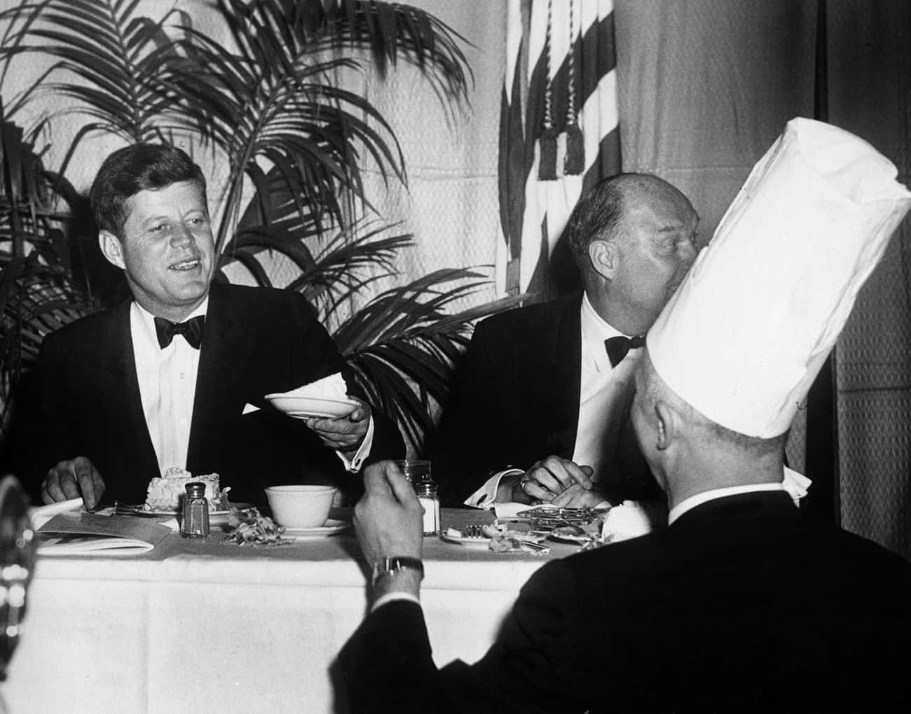 Kennedy's Inaugural Address is listed (or ranked) 2 on the list The Best Presidential Speeches of All Time