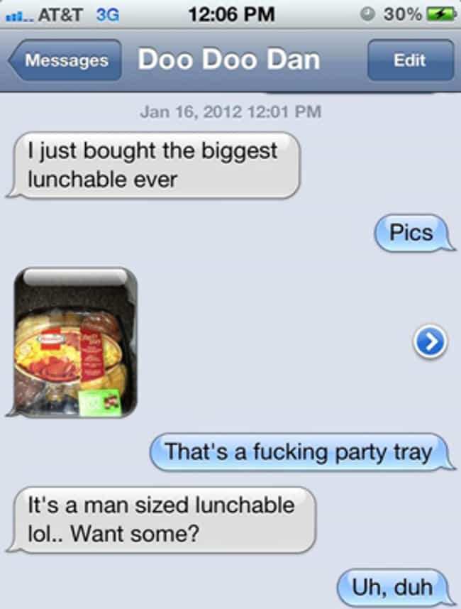 Totally See the Resembla... is listed (or ranked) 4 on the list 33 Hilarious Stoned Text Messages