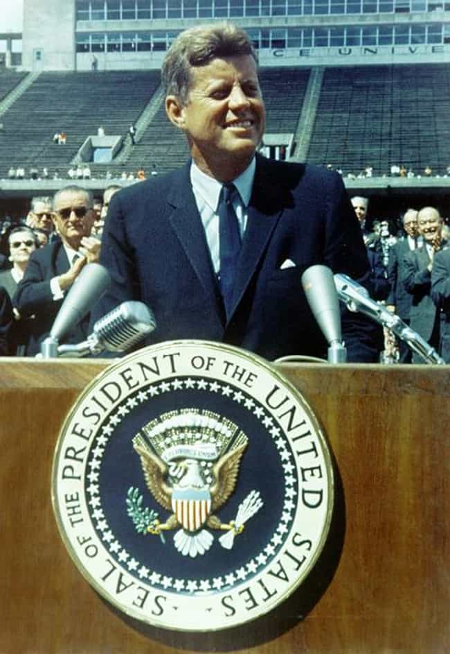 "Kennedy's ""We Choos... is listed (or ranked) 4 on the list The Best Presidential Speeches of All Time"