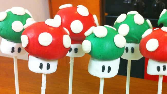 These Really One-Up All Other ... is listed (or ranked) 2 on the list Video Game Cakes We Want for Our Next Birthday