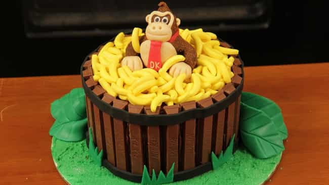 Astounding 45 Awesome Video Game Cake Ideas Photos Funny Birthday Cards Online Alyptdamsfinfo