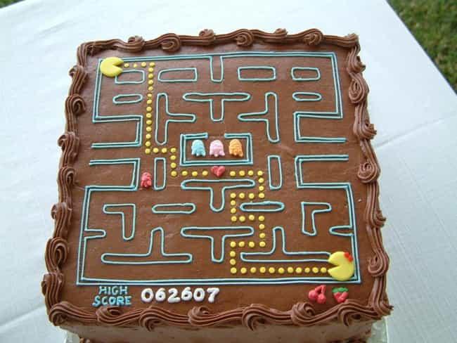 Awesome Video Game Cake Ideas Photos - Video game birthday cake