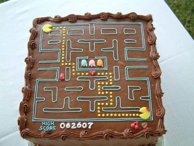 Awesome 45 Awesome Video Game Cake Ideas Photos Funny Birthday Cards Online Inifofree Goldxyz