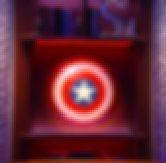 Captain America's Shield Made ... is listed (or ranked) 3 on the list The Best Moments from Colbert's Debut of The Late Show