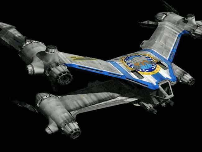 Earthforce Mk. 2 SA-23E ... is listed (or ranked) 4 on the list The Most Popular Sci-Fi Starfighters