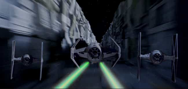 TIE Fighter is listed (or ranked) 3 on the list The Most Popular Sci-Fi Starfighters