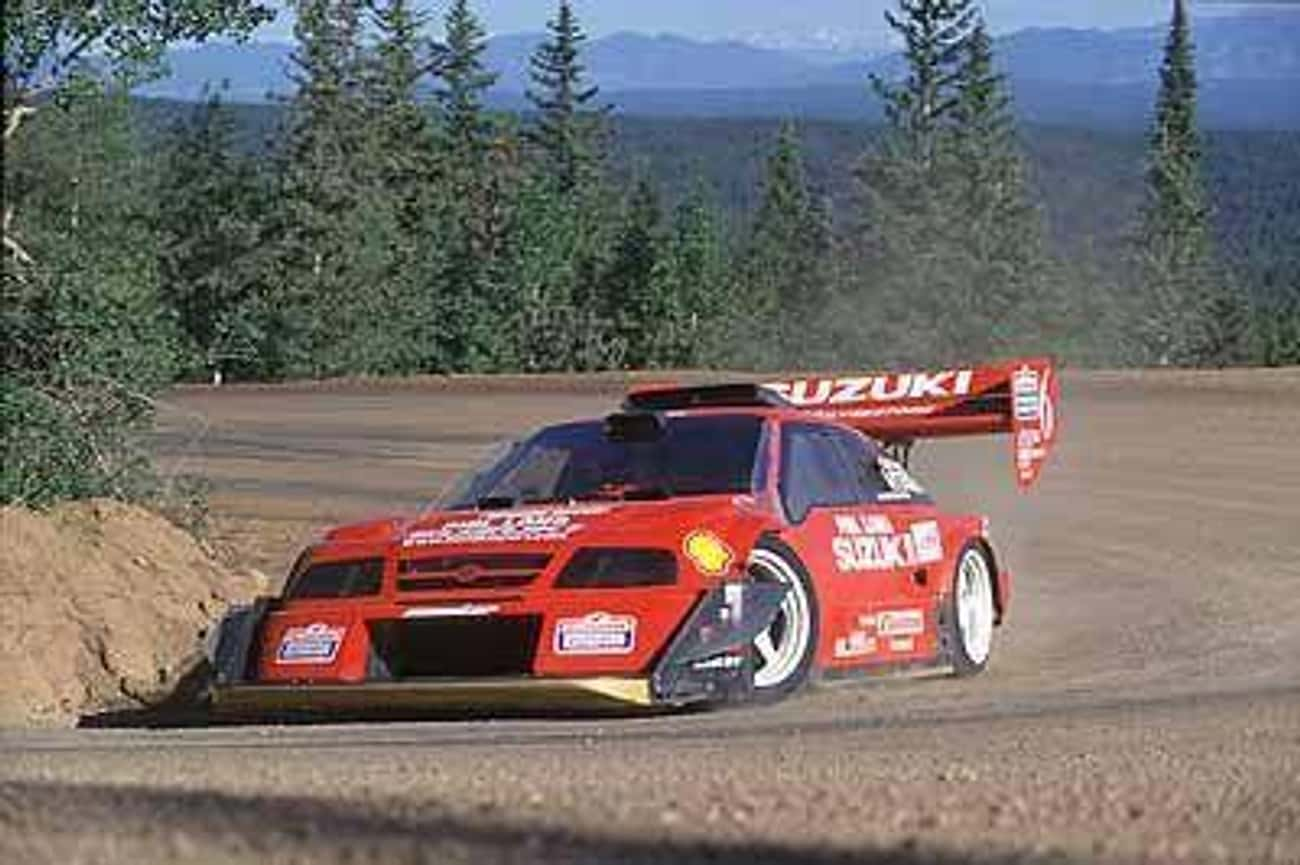 Suzuki Pikes Peak Escudo is listed (or ranked) 3 on the list The Best Rally Cars Ever Put Together