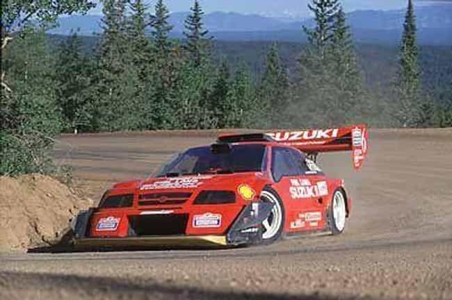 Suzuki Pikes Peak Escudo... is listed (or ranked) 3 on the list The Best Rally Cars Ever Put Together