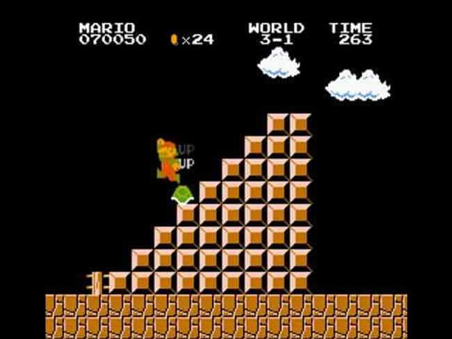The 1-Up Turtle is Not a Glitc... is listed (or ranked) 3 on the list 20 Things You Never Knew About Super Mario Bros.