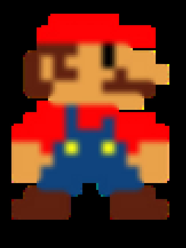 Mario's Design Is Based on... is listed (or ranked) 3 on the list 20 Things You Never Knew About Super Mario Bros.