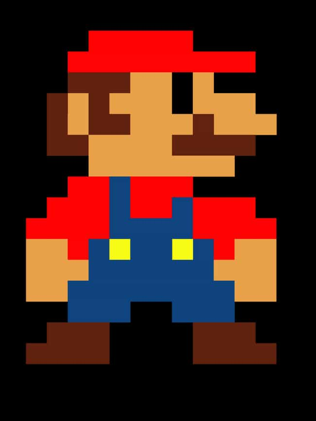 Mario's Design Is Based on... is listed (or ranked) 4 on the list 20 Things You Never Knew About Super Mario Bros.