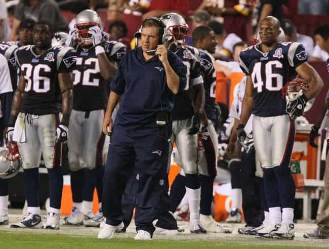 New England Patriots Hea... is listed (or ranked) 1 on the list The 14 Most Shocking NFL Scandals