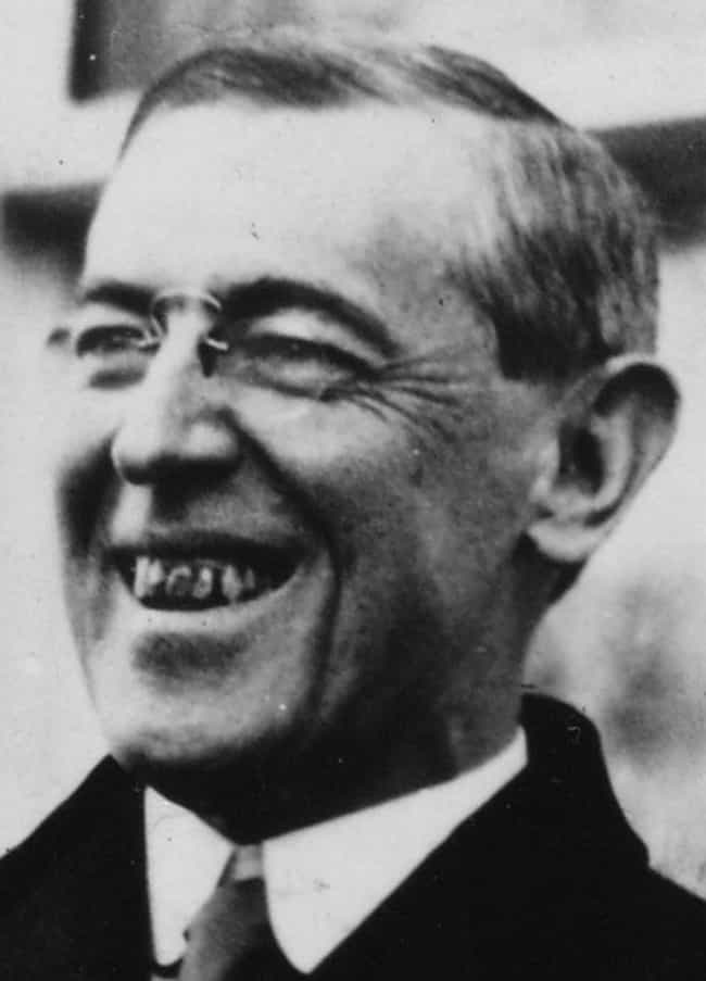 Woodrow Wilson's Teeth is listed (or ranked) 3 on the list 15 Terrible Moments in Presidential Style