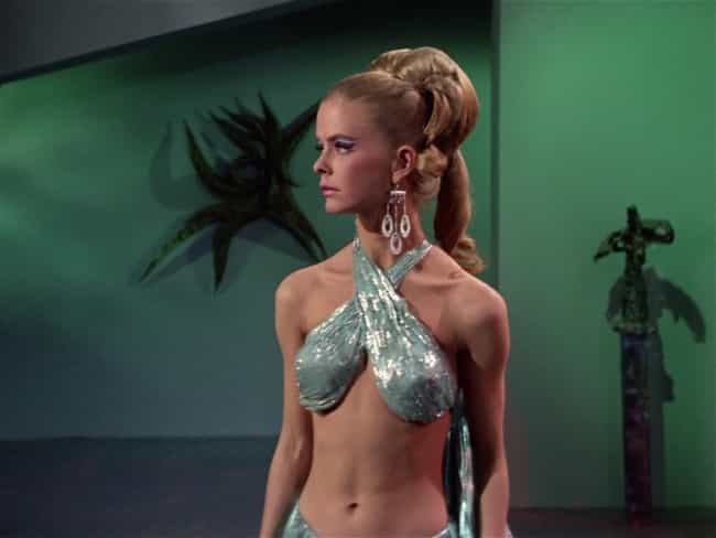 Droxine is listed (or ranked) 4 on the list The Most Beautiful Women to Appear on Star Trek
