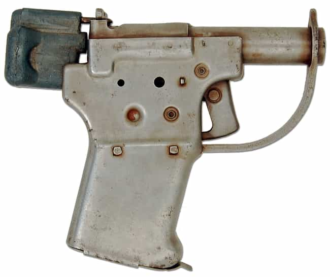 FP-45 Liberator is listed (or ranked) 3 on the list The Ugliest Guns Ever Made