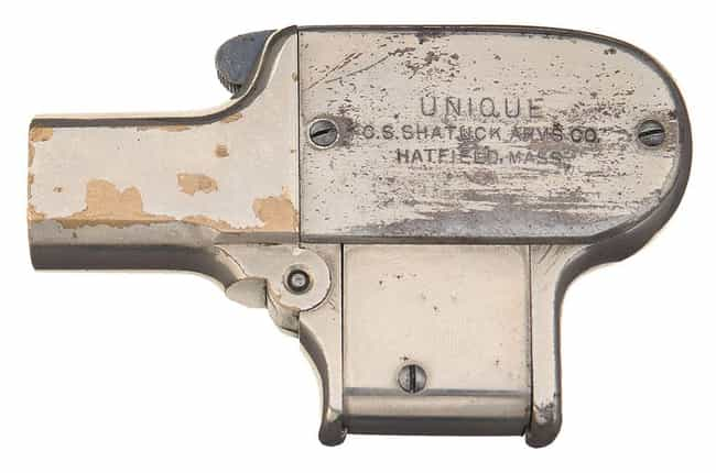 Shattuck Palm Pistol is listed (or ranked) 1 on the list The Ugliest Guns Ever Made