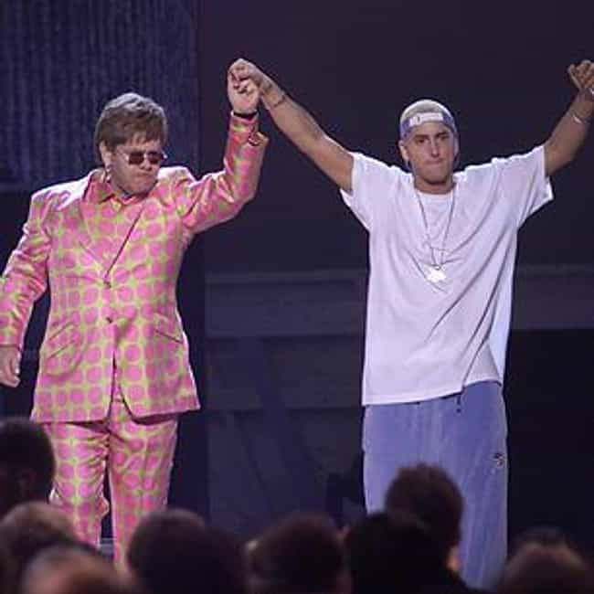 Elton John Is His Unofficial S... is listed (or ranked) 1 on the list 26 Fascinating Facts You Didn't Already Know About Eminem