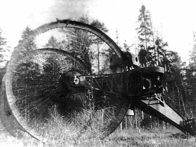 Tsar Tank is listed (or ranked) 5 on the list 17 Unique Russian Military Inventions
