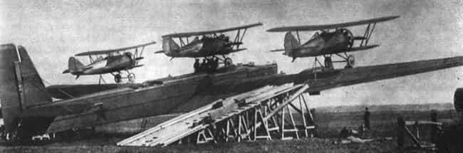 Zveno Flying Aircraft Ca... is listed (or ranked) 8 on the list 17 Unique Russian Military Inventions