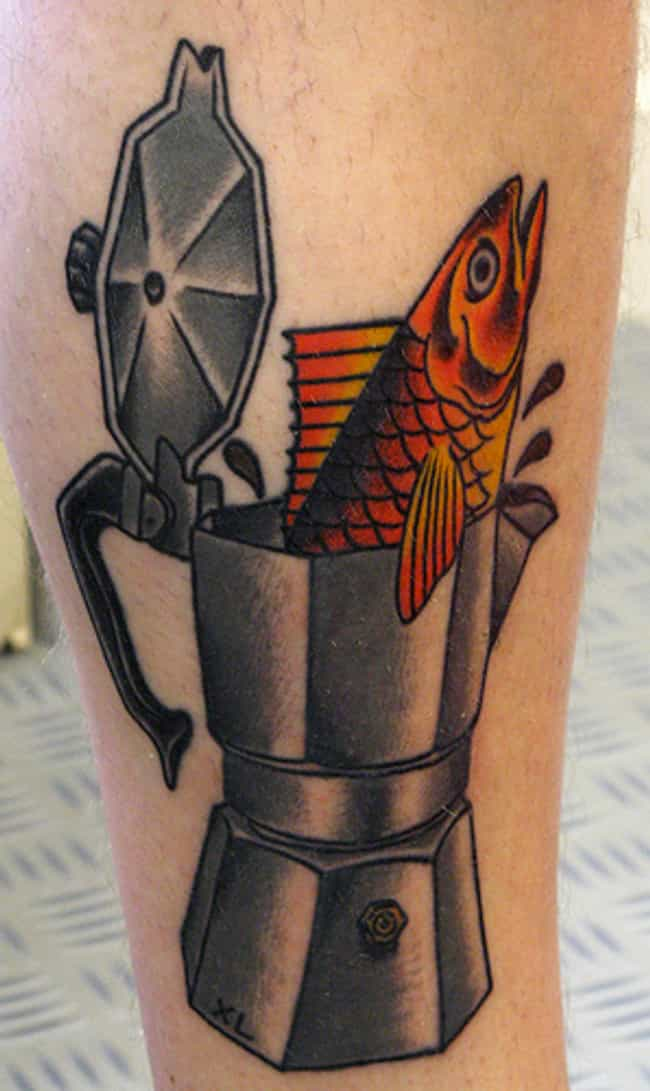 There Was a Fish in the Percol... is listed (or ranked) 3 on the list 24 Incredible Tattoos Inspired by Twin Peaks