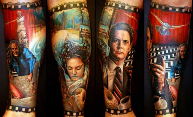 Filled with Secrets is listed (or ranked) 2 on the list 24 Incredible Tattoos Inspired by Twin Peaks