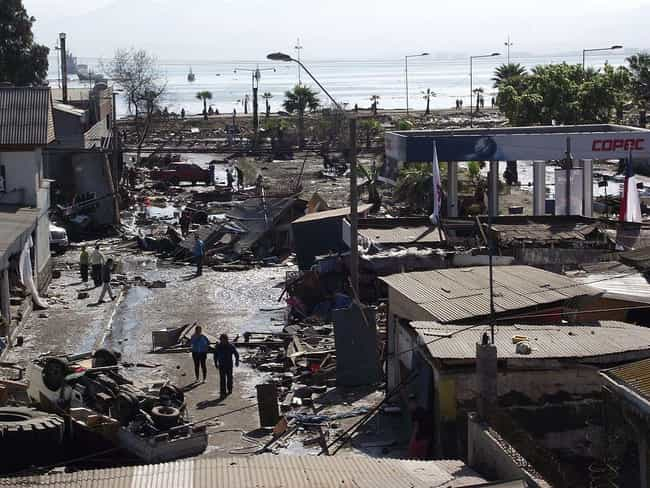 2015 Chile Earthquake - ... is listed (or ranked) 4 on the list The Worst Earthquakes of the Century