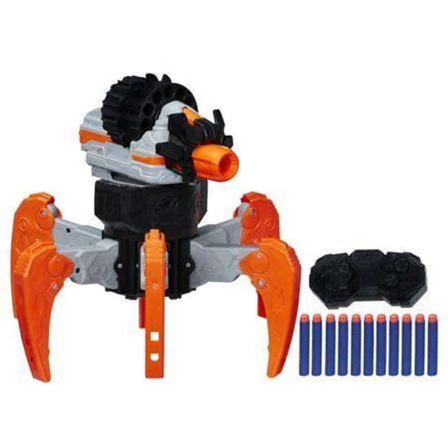 Nerf Combat Creatures Te... is listed (or ranked) 4 on the list Cool Toys That Will Make You Wish You Were a Kid Again