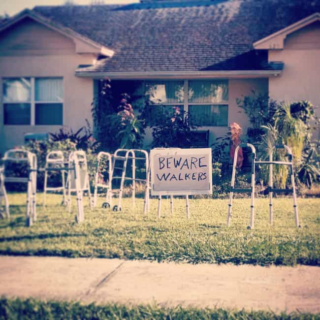 Beware: Puns is listed (or ranked) 1 on the list The Worst Halloween Decorations in America