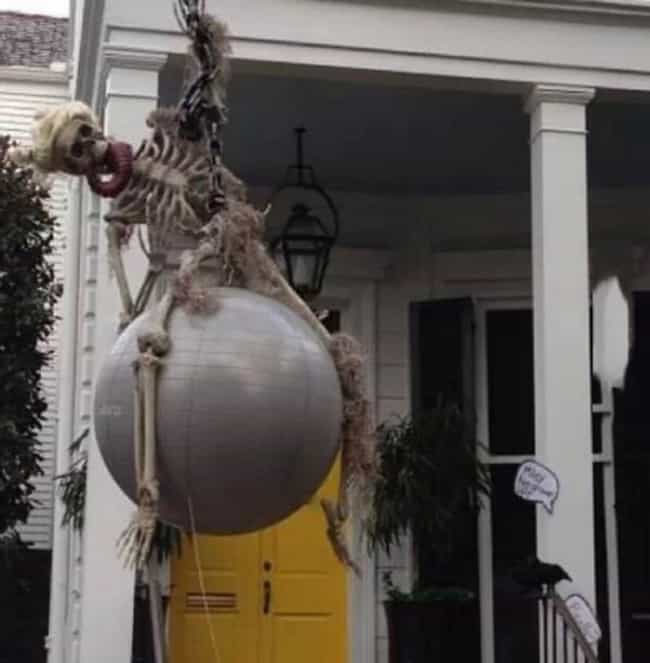 A Visual Representation ... is listed (or ranked) 2 on the list The Worst Halloween Decorations in America