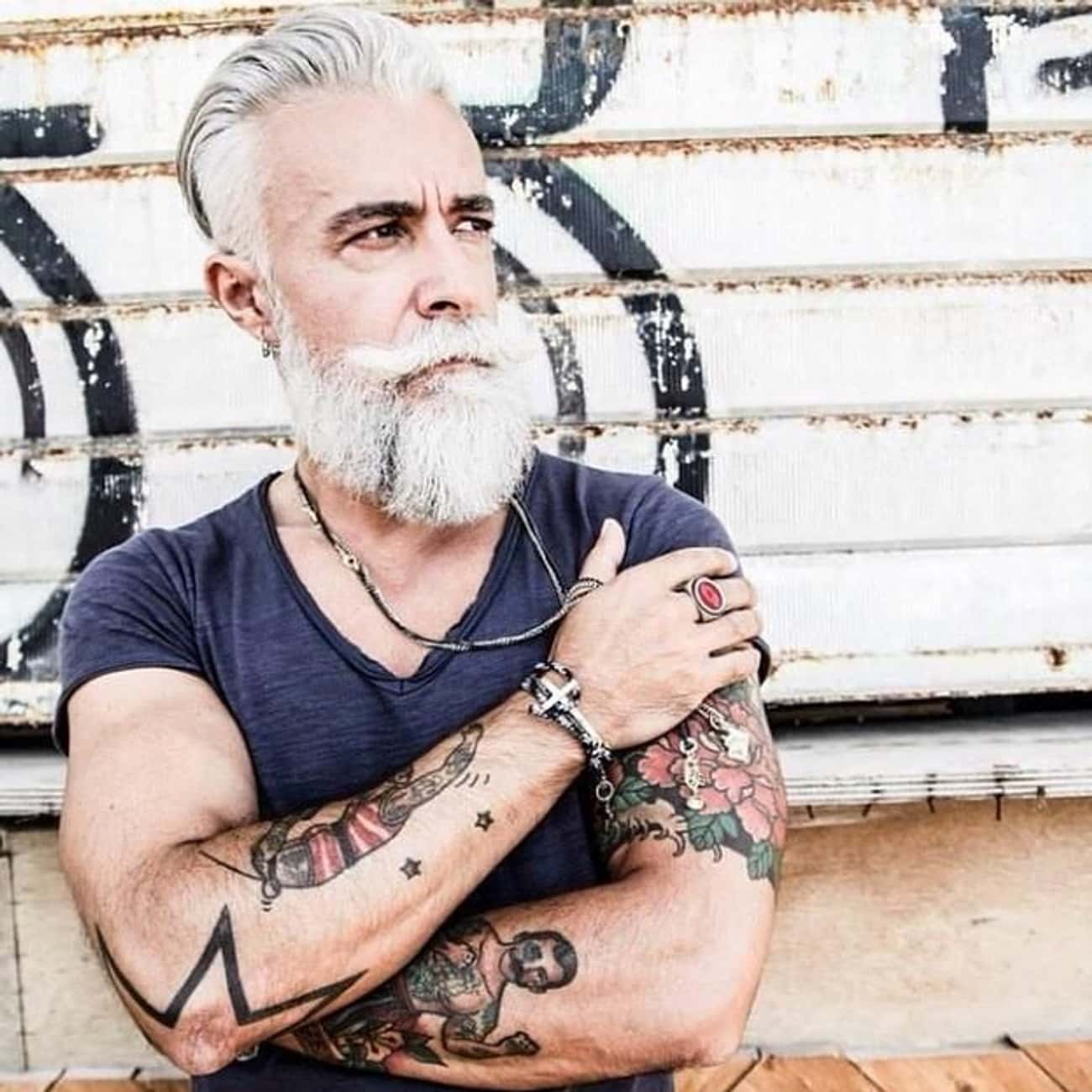 Who Said Tattoos Can't Be  is listed (or ranked) 2 on the list 18 Cool Older People With Tattoos