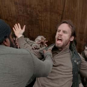 Allen is listed (or ranked) 8 on the list The Most Irritating Characters on The Walking Dead