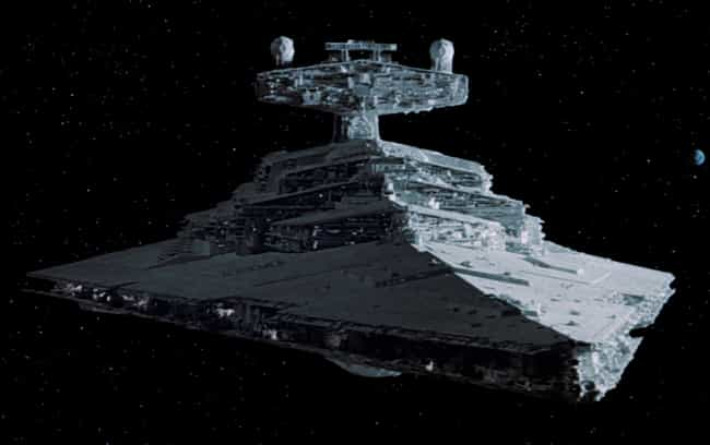 Star Destroyer is listed (or ranked) 3 on the list Star Wars Ships You'd Most Like to Take for a Spin