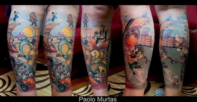 7ca70f488 Looney Toons Tattoo Ideas | Cool Tattoos Inspired by Looney Tunes
