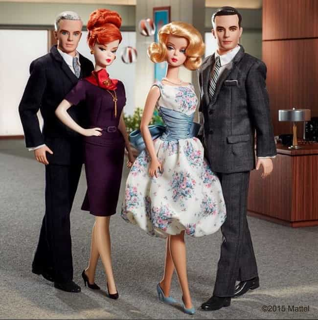 An Homage to Mad Men is listed (or ranked) 4 on the list Barbie's Best Instagram Outfits