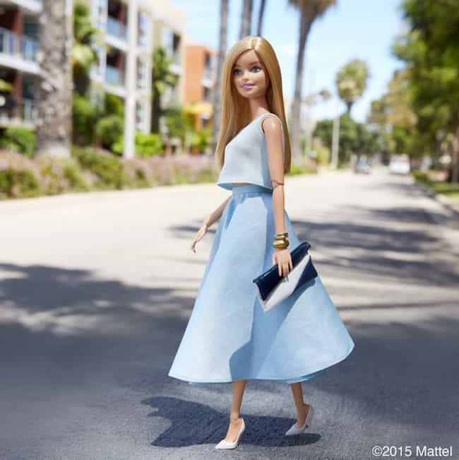 Picture Perfect in a Baby Blue... is listed (or ranked) 1 on the list Barbie's Best Instagram Outfits