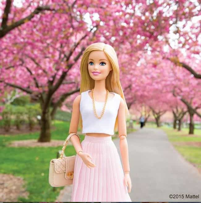 Cherry Blossom Inspiration is listed (or ranked) 2 on the list Barbie's Best Instagram Outfits