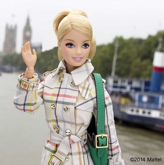 Exploring Foggy London Town in... is listed (or ranked) 4 on the list Barbie's Best Instagram Outfits