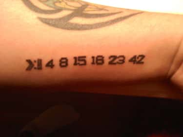One of the Cooler Numbers Tatt is listed (or ranked) 1 on the list 25 Incredible Tattoos Inspired by Lost