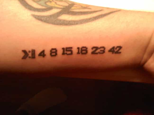 One of the Cooler Numbers Tatt... is listed (or ranked) 1 on the list 25 Incredible Tattoos Inspired by Lost