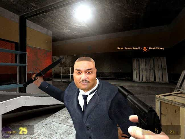 Oddjob is listed (or ranked) 3 on the list The Cheapest, Most Unbeatable Video Game Characters Ever